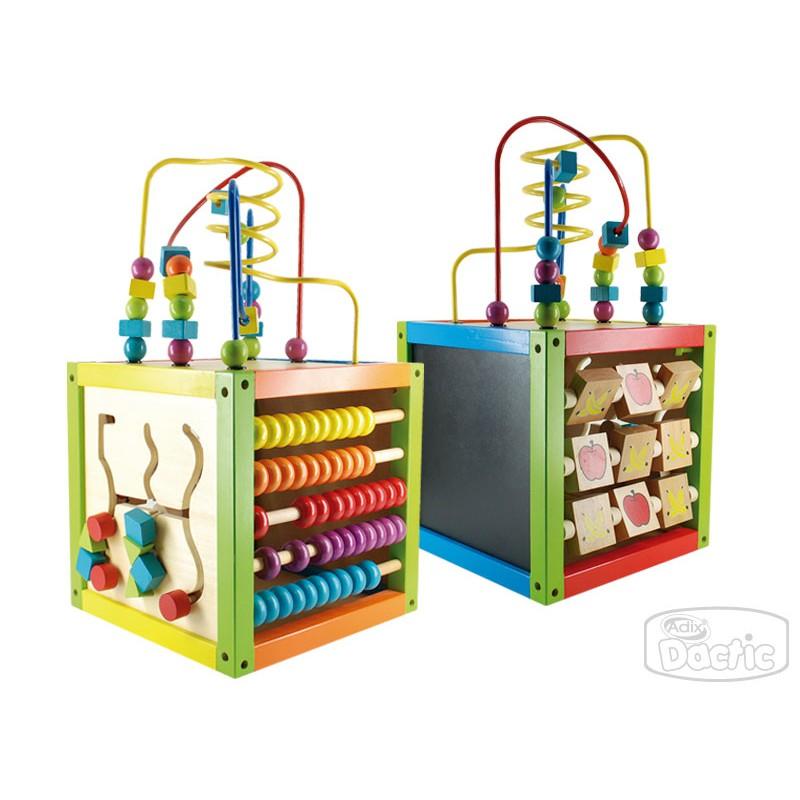 Material didáctico de madera para niños desde los 12 meses.